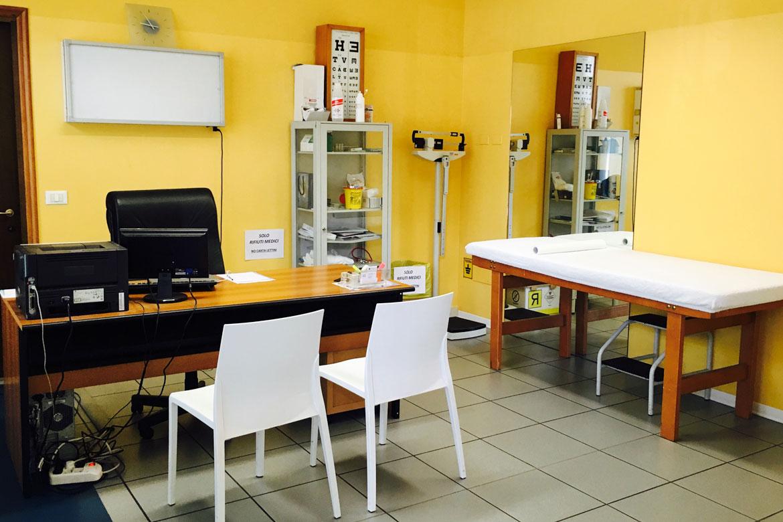 ambulatorio di fisioterapia a Padova